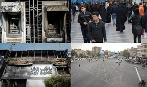 آرامش نسبی پس از یک شب پر تنش/ مردم از اشرار فاصله گرفتند/ آرامش کامل در تهران؛ فروکشکردن اعتراضات در شهرهای دیگر/ شهادت مظلومانه یک بسیجی +عکس