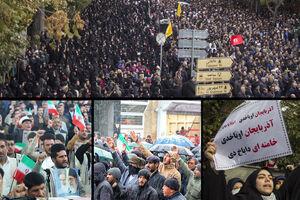 راهپیمایی محکومیت آشوبگران/هوشیاری ملت آتش «اغتشاش» را خاموش کرد +عکس