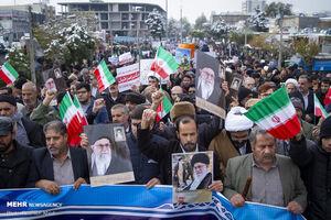 مسیرهای راهپیمایی محکومیت اغتشاشات در استان تهران