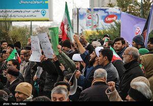 راهپیمایی باشکوه مردم کرج علیه اغتشاشگران