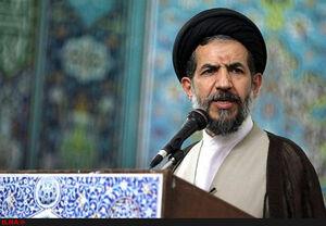 حجت الاسلام ابوترابیفرد در مراسم ۱۲ بهمن حرم امام (ره) سخنرانی میکند