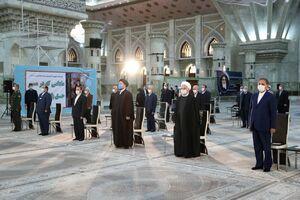 تجدید میثاق هیات دولت با آرمانهای امام راحل(ره)