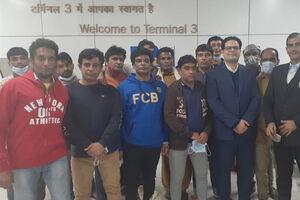 ماهیگیران آزاد شده از زندان هند وارد چابهار شدند