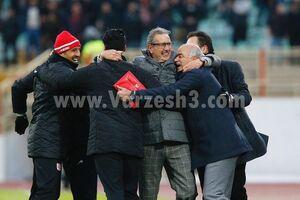 عکس/شادی ویژه جورج لیکنز پس از شکست استقلال