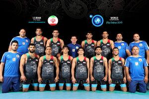 4 طلا و نقره و برنز برای ایران در روز اول کشتی قهرمانی آسیا