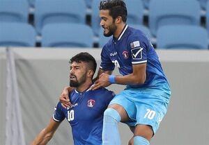 مدافع ایرانی زننده نیمی از گلهای تیم قطری