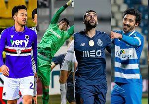 ناکامی ۴ بازیکن ایرانی در نظرسنجی AFC +عکس