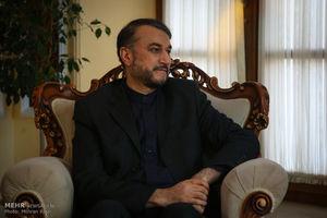 کنایه توییتری امیرعبداللهیان به وزرای خارجه ارتجاع عرب