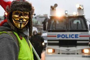 وزیر کشور فرانسه: جلیقه زردها قصد کودتا دارند
