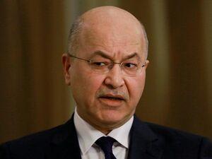 برهم صالح: علت درخواستها برای خروج نظامیان آمریکا عدم احترام به حاکمیت عراق است