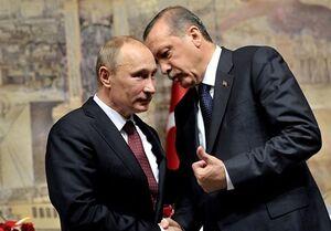 رایزنی اردوغان و پوتین درباره سوریه و لیبی