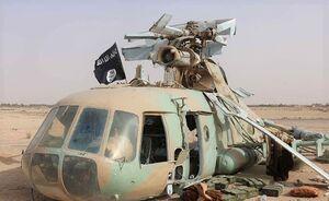 سقوط بالگرد آمریکایی ارتش کنیا به دلایل نامعلوم