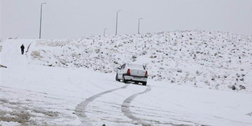 بارش برف و باران در نیمه شمالی کشور و سواحل خزر
