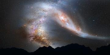 کهکشان «ابر ماژلانی بزرگ» در مسیر برخورد با کهکشان راه شیری قرار گرفت