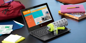کروم بوکهای با صفحه کلید مقاوم جدید اچ پی برای مدارس