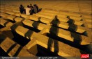 سنگ قبر لاکچری با روکش طلا در ایران ! +عکس