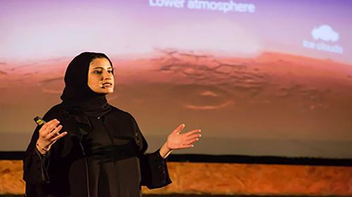 یک خانم ایرانی، «امید» اماراتیها را به مریخ رساند