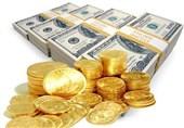 قیمت طلا، قیمت سکه و قیمت ارز امروز ۱۳۹۷/۰۹/۲۷