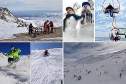 طبیعت دیدنی همدان در زمستان/ «تاریکدره» به روی گردشگران آغوش گشود