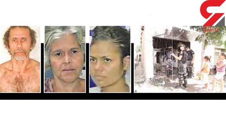 آدم خوار های معروف این 2 زن و یک مرد بی رحم هستند + عکس