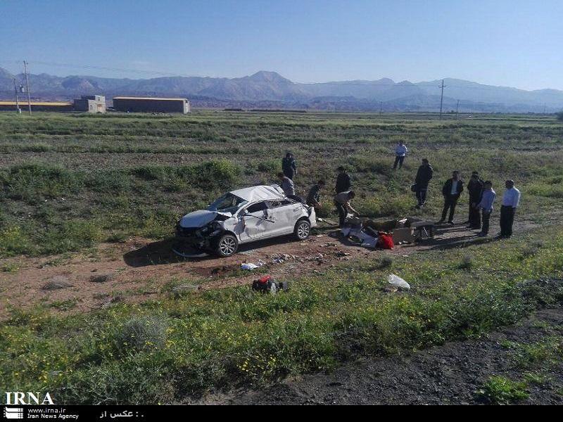 سوانح رانندگی در سبزوار هشت مجروح بر جای گذاشت