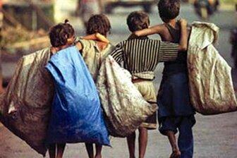 چند درصد کودکان کار و خیابان برای باندهای مافیایی کار می کنند؟